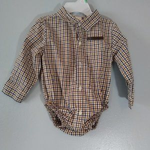 """Janie and Jack """" button-up"""" oneise"""